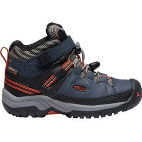 Keen Kids Targhee WP Mid Shoes blue night/ro tea